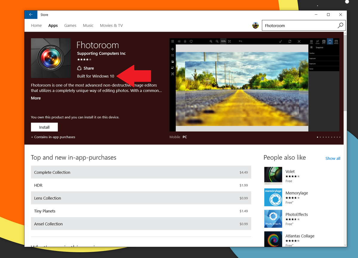 Photoroom App Is Built For Windows 10 On New Labeling In Windows Store