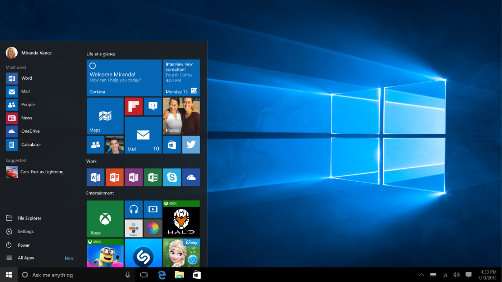 Microsoft To Launch Windows 10 In With Global Launch