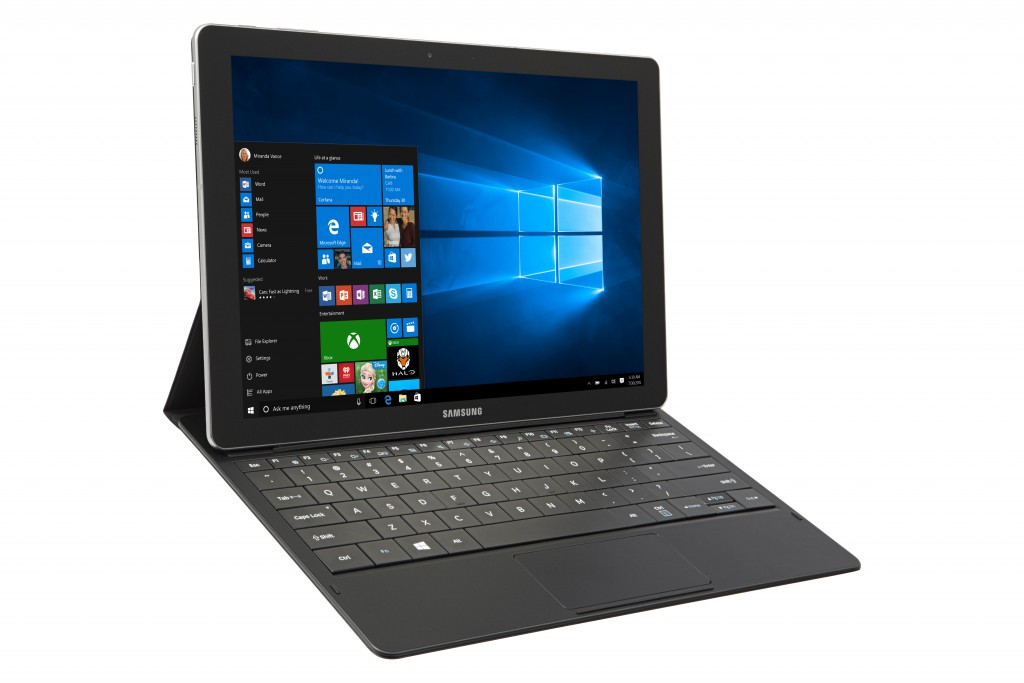 Microsoft and Samsung Show Galaxy TabPro S At CES