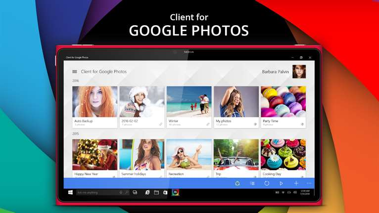 Bring Google Photos To Your Windows 10 Device