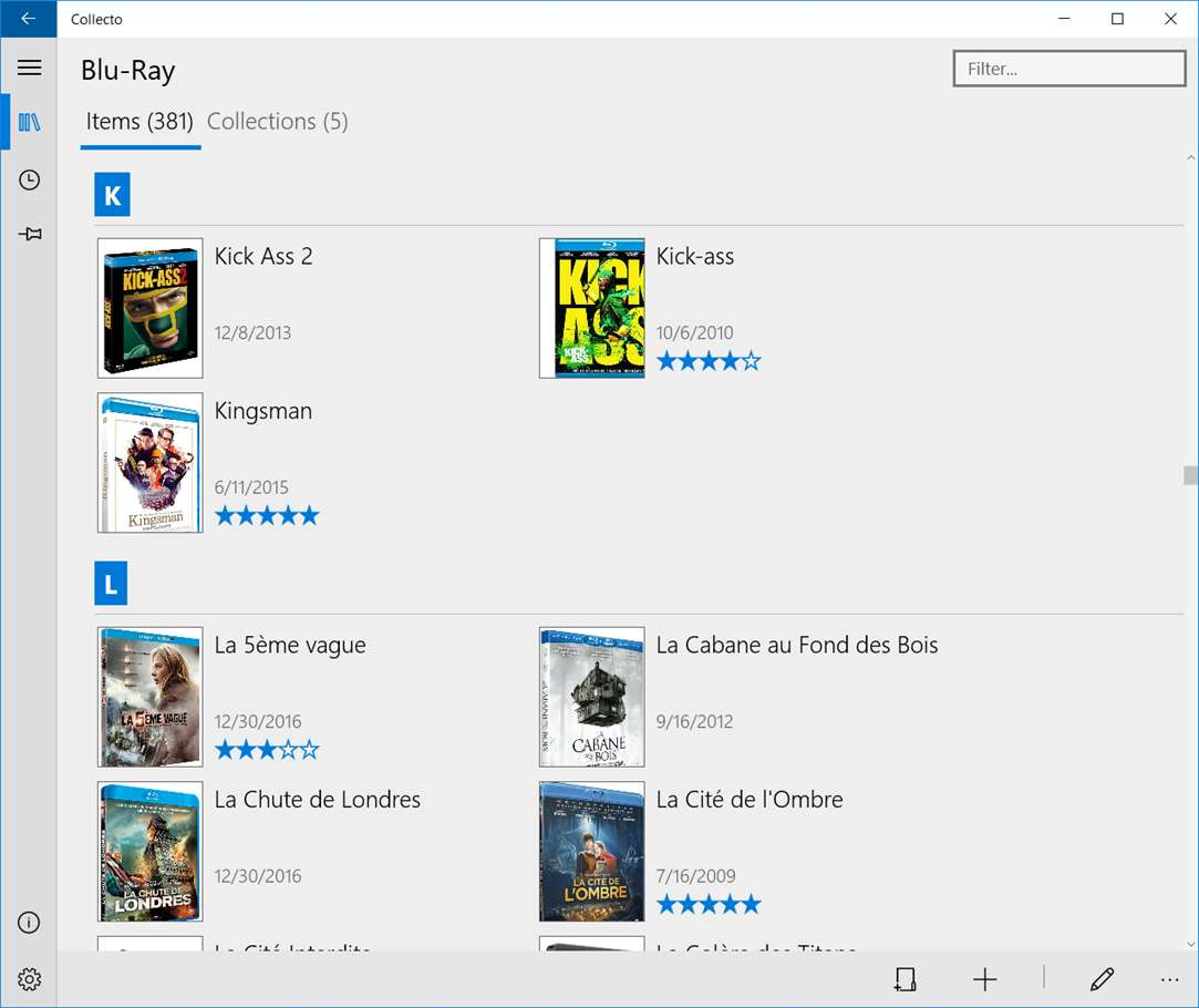 Organize Blu-Ray Movies With Collecto