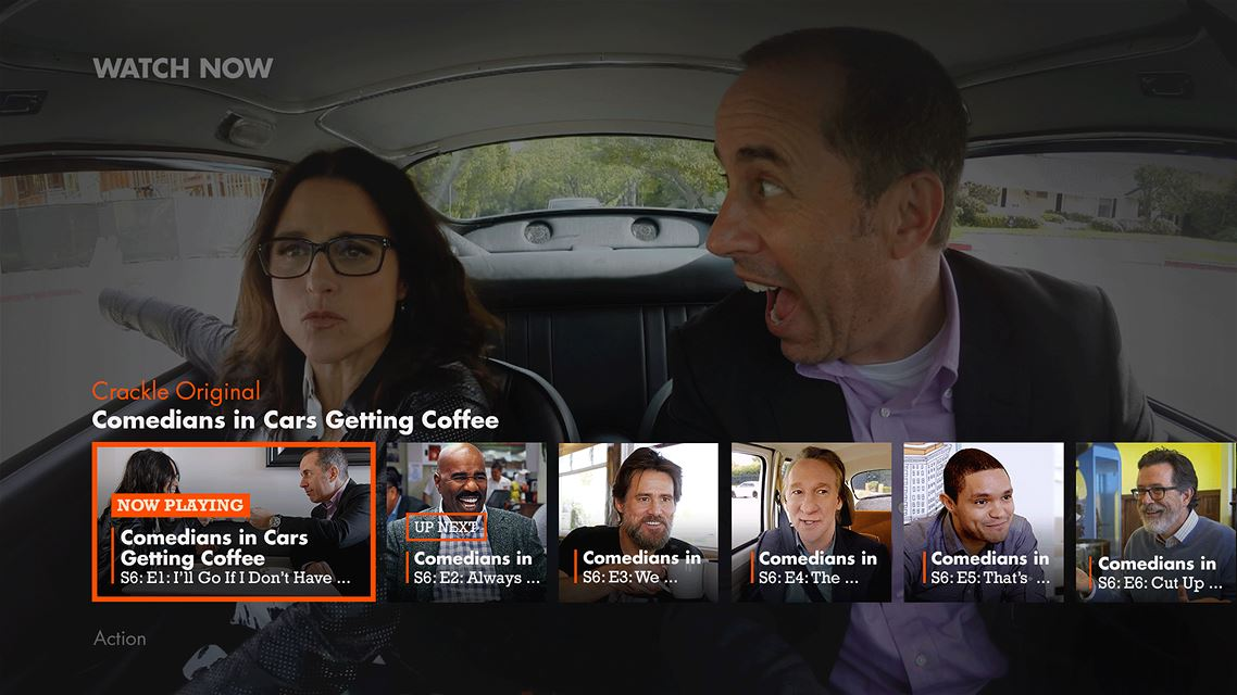 Crackle Gives Windows Users Great Original Programming