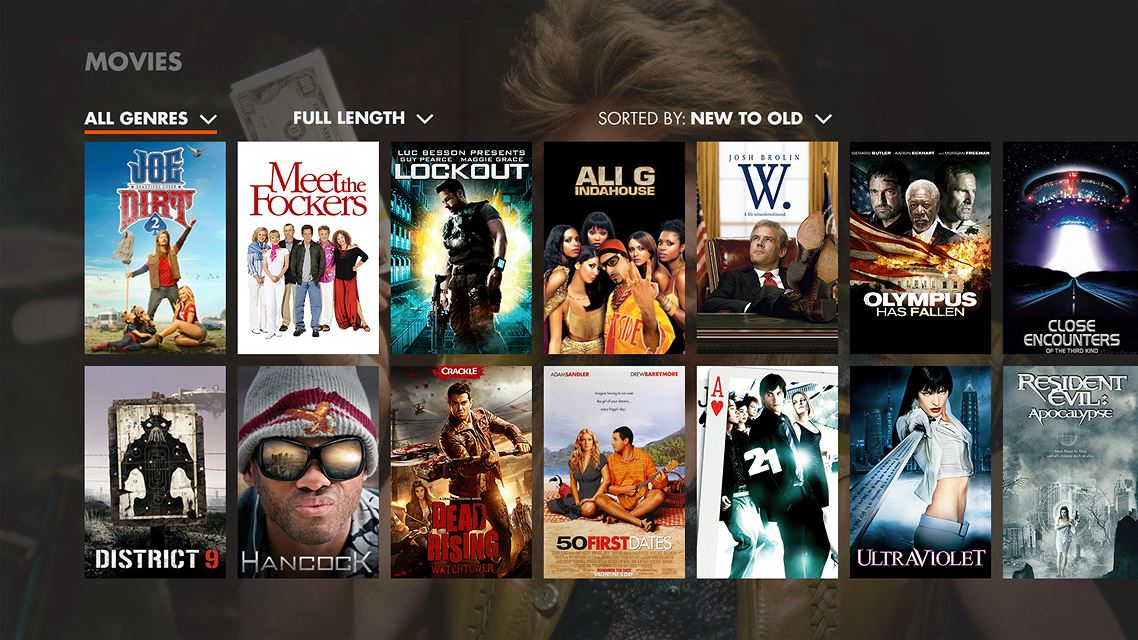 Movies Galore Fill Crackle's Service For Users