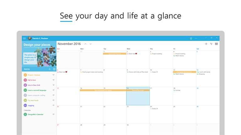 View Your Calendars Easily With DesignMe