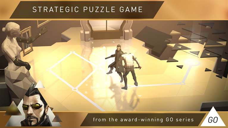 Take On Tacical Skills With Deus Ex Go On Windows 10