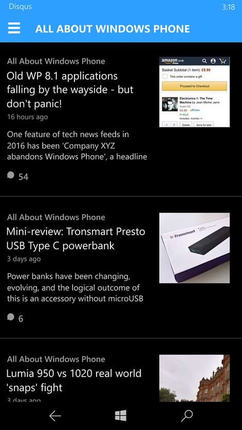 Reply To Comments On Disqus Via Windows 10 Mobile or Desktop Devices