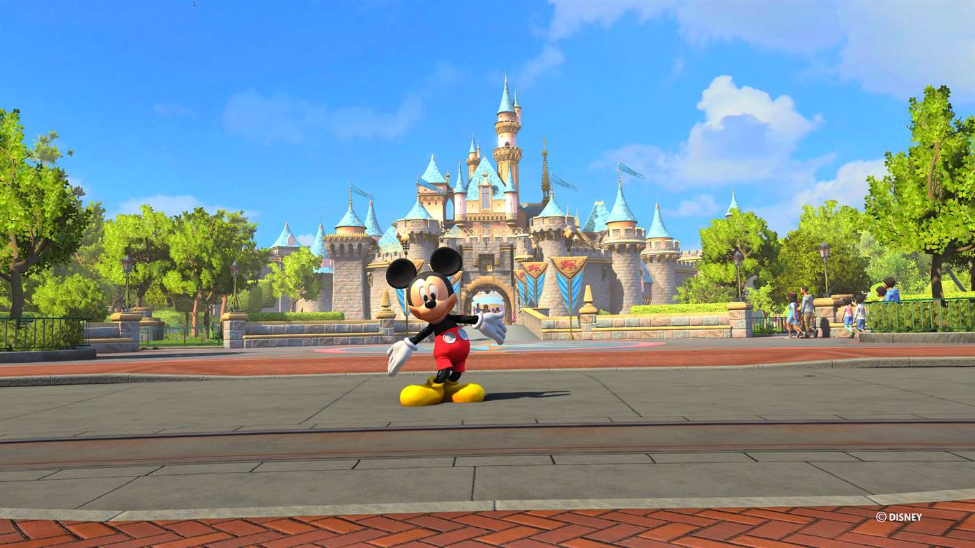 Join Mickey Mouse at Disneyland Via Disney Adventures