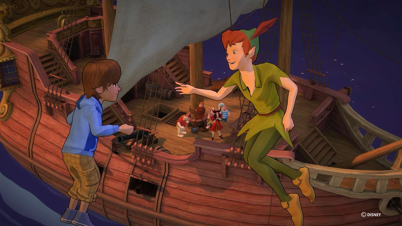 Join Peter Pan On Fun Disney Adventures On Windows 10