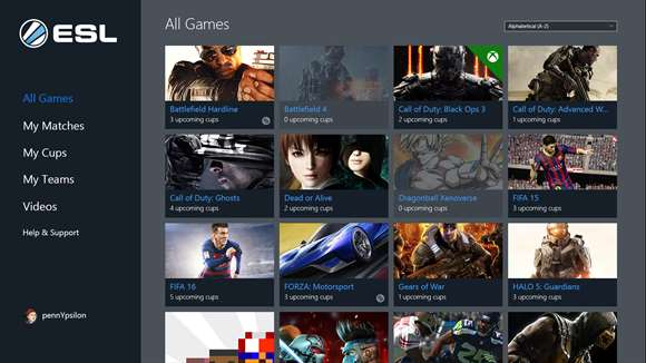 ESL eSports App Brings eSports App To Windows 10