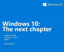 Microsoft To Show Off Windows 10 During Janury 2015 Event