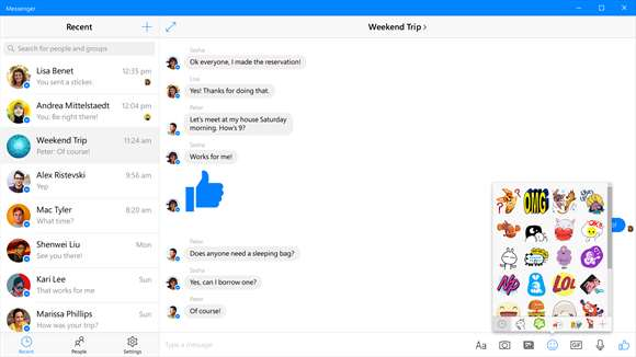 Message Your Hearts Away With Official Messenger For Windows 10
