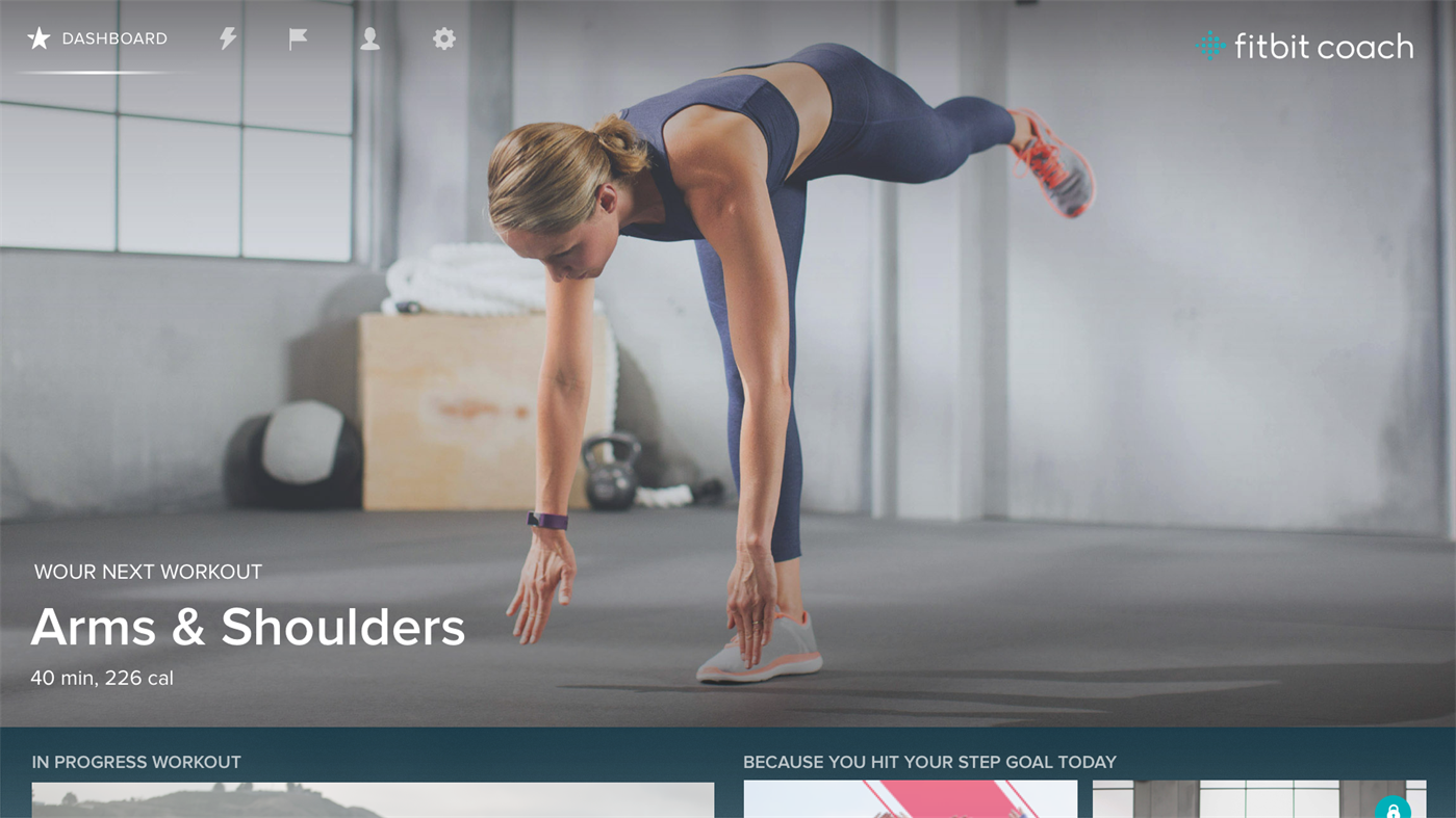 Stay Fit With Fitbit Coach App On Windows 10