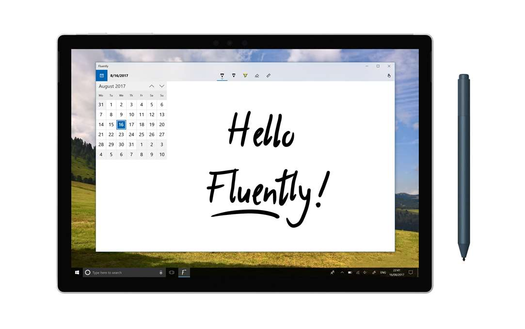 Recreate Your Calendar With Fluently & A Digital Pen