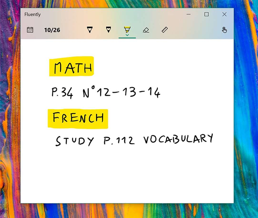 Take Digital Pen Notes On Your Calendar With Fluently