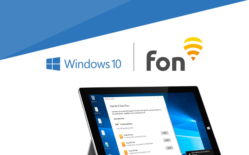 Access FON Directly With Windows 10 Devices Starting Today
