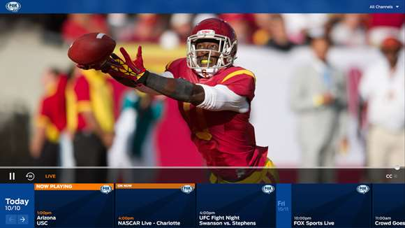 Fox Sports Go Brings Top Sports To Windows 10 Users