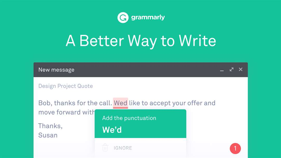 Grammarly Extension For Microsoft Edge Arrives