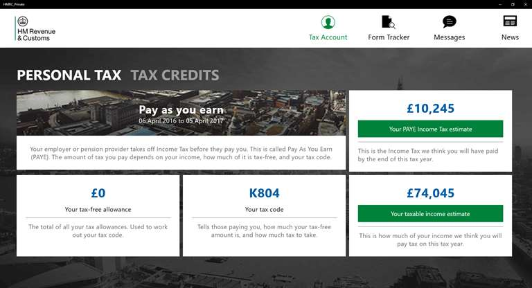 HMRC Launches UK Windows 10 App