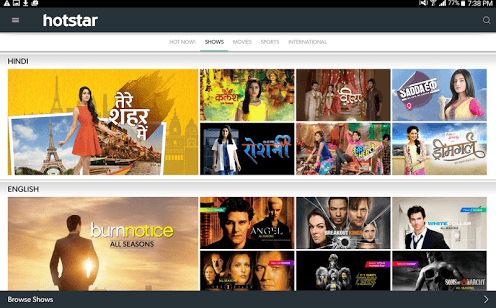 Indian Programming Company Hotstar Brings App To Windows 10 Fans
