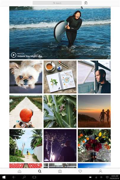 Photos On Instagram Evolve To Live Videos With Instagram Updates On Windows 10