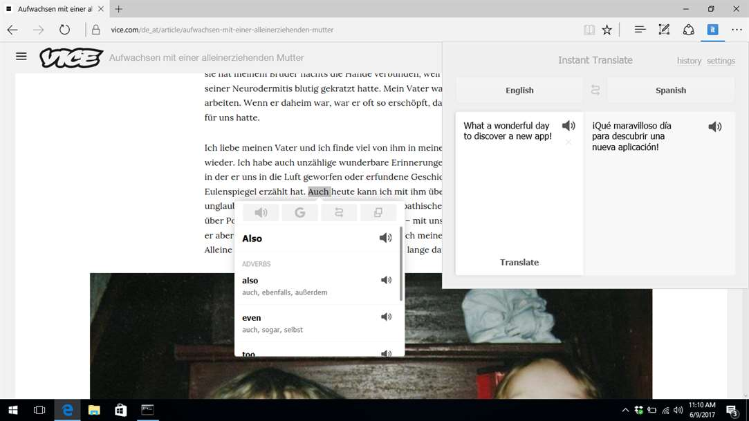 Turn Words Into Translations With Instant Translate