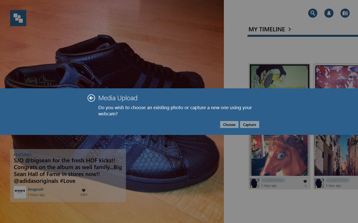 Upload Photos To Instagram With InstaPic On Windows 10