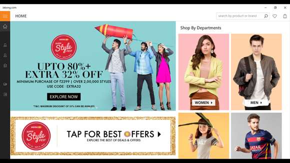 Shoppers Rejoice With Updates To Jabong Indian Shopping App For Windows 10