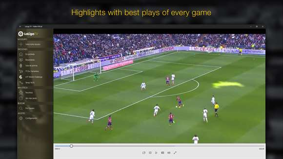 Watch LaLiga Football On Windows 10 App