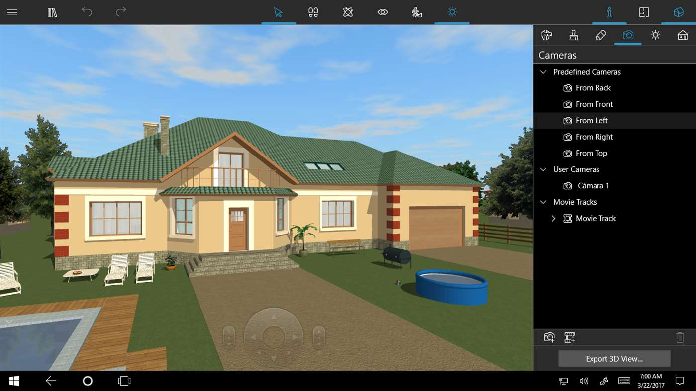 Customize your next home with live home 3d on windows 10 for 3d home