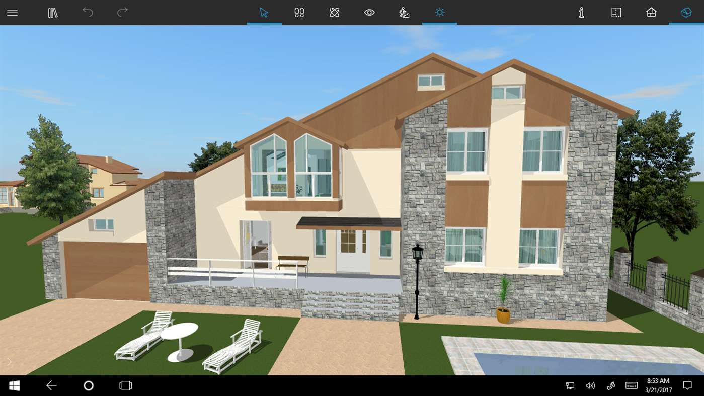 Design your new home with live home 3d pro on windows 10 for New windows for your home