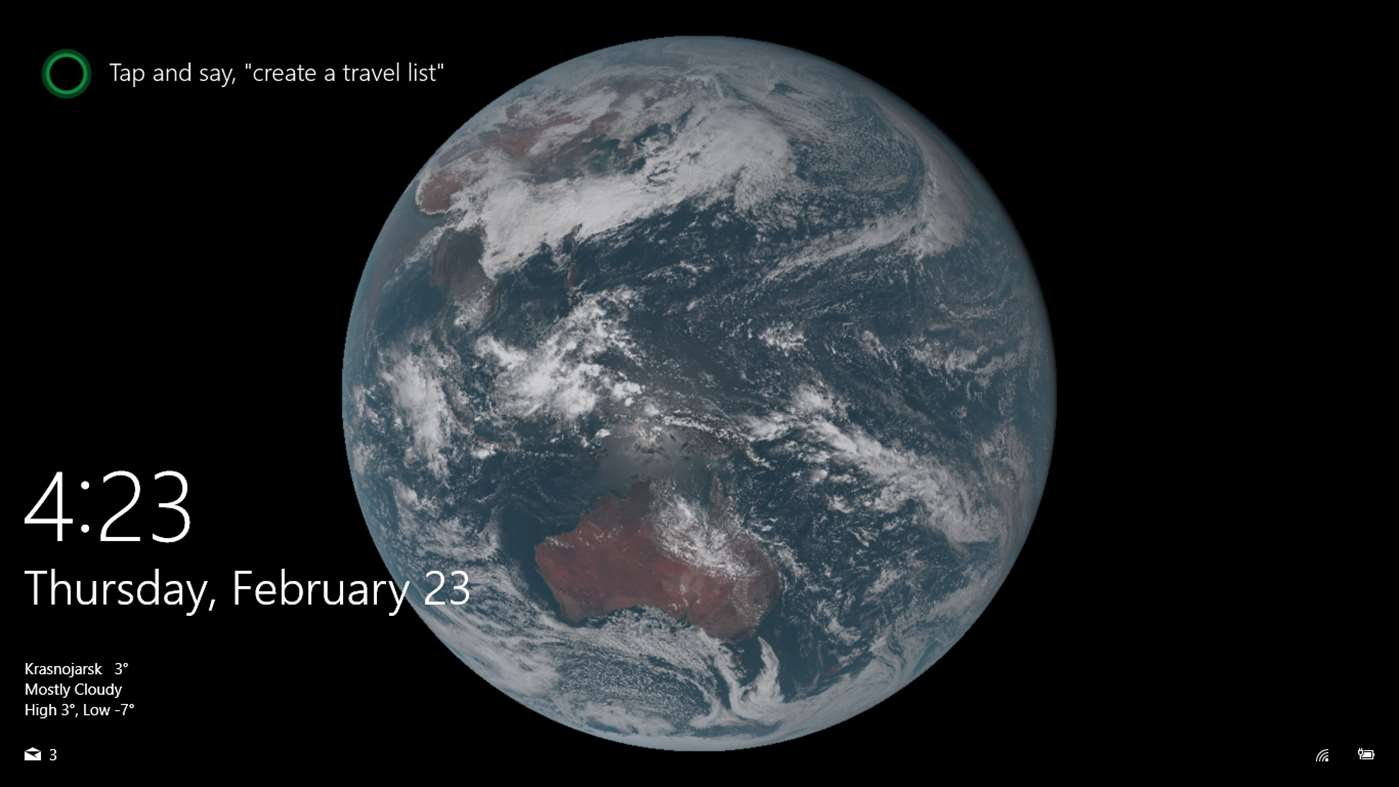 Transform Your Windows 10 Desktop Into Live Images Of The Earth