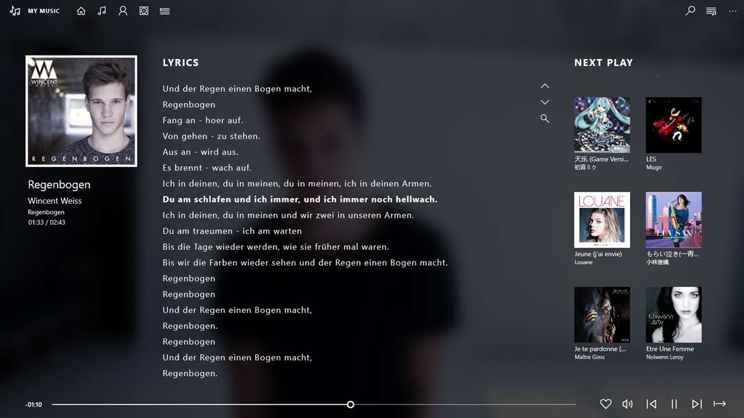 Enjoy Your Lyrics With Light Media Player