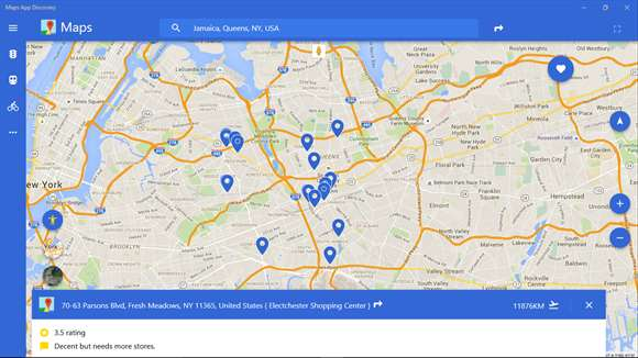 Discover Google Maps On Windows 10 With Maps App Discovery