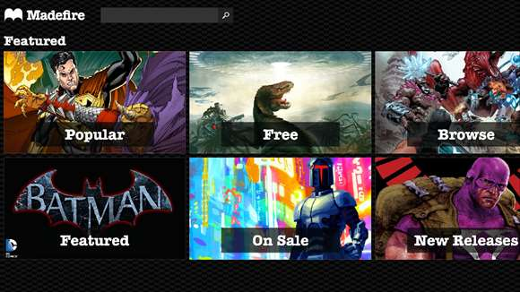 Madefire App Brings Digital Comics To Windows 10