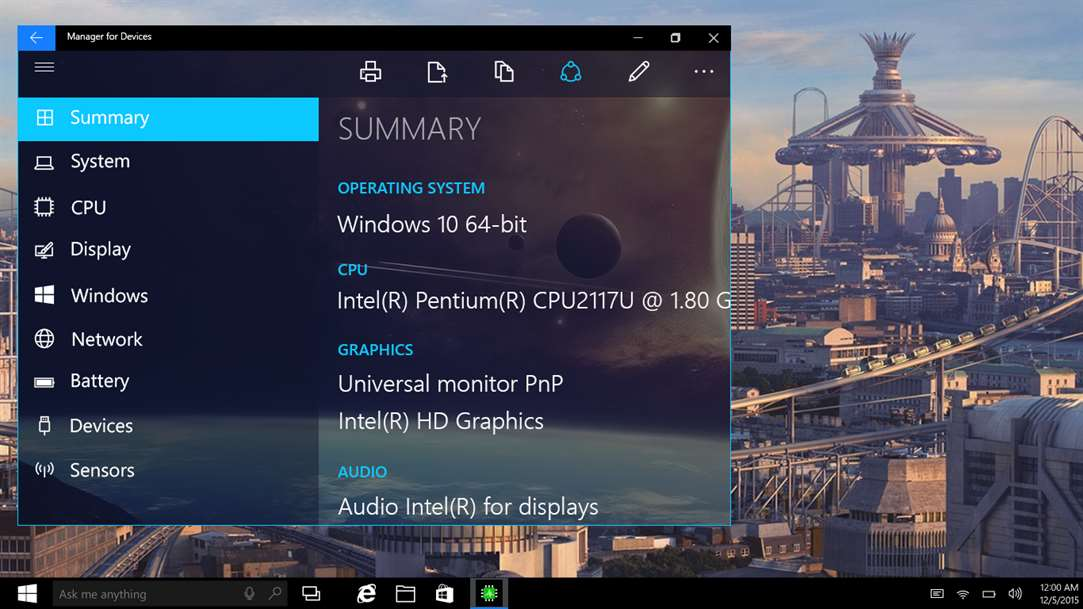 Analyze Your Windows 10 Devices With Manager For Devices Gold