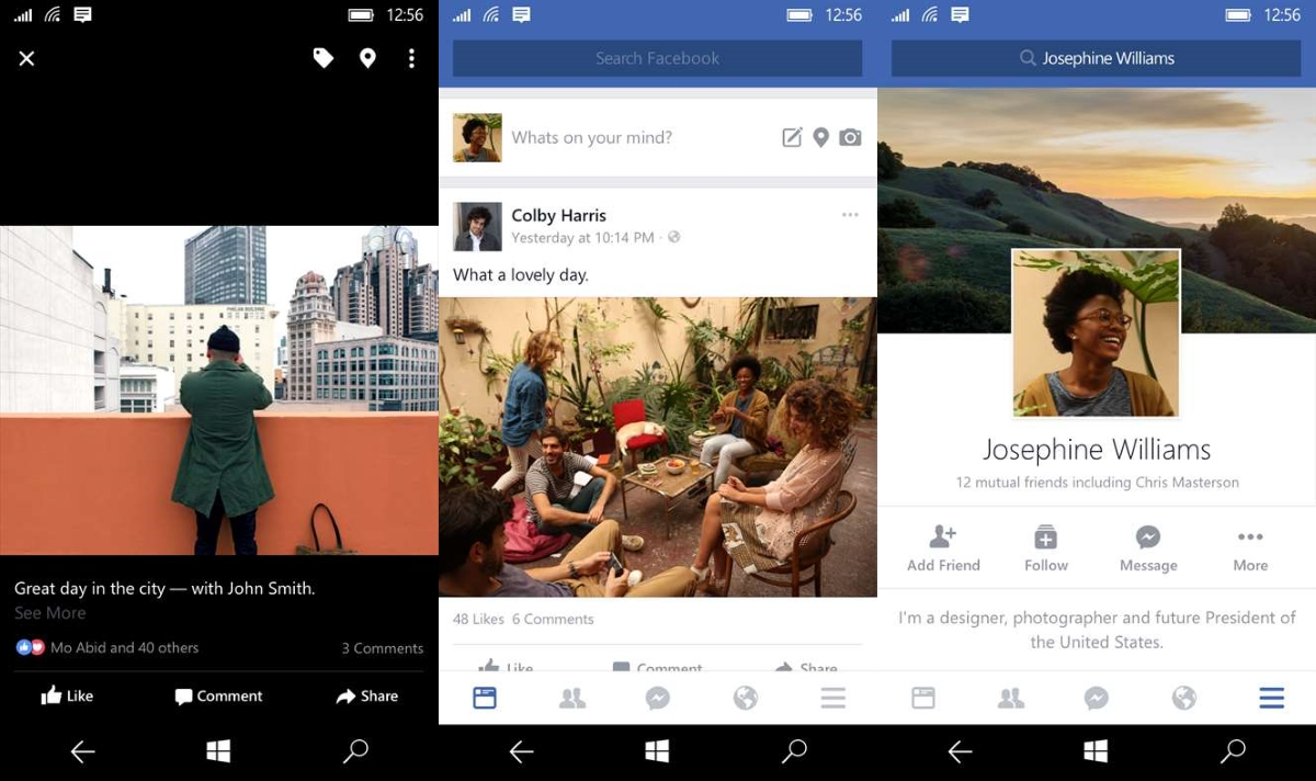 Facebook Messenger Goes Official On Windows 10 Mobile