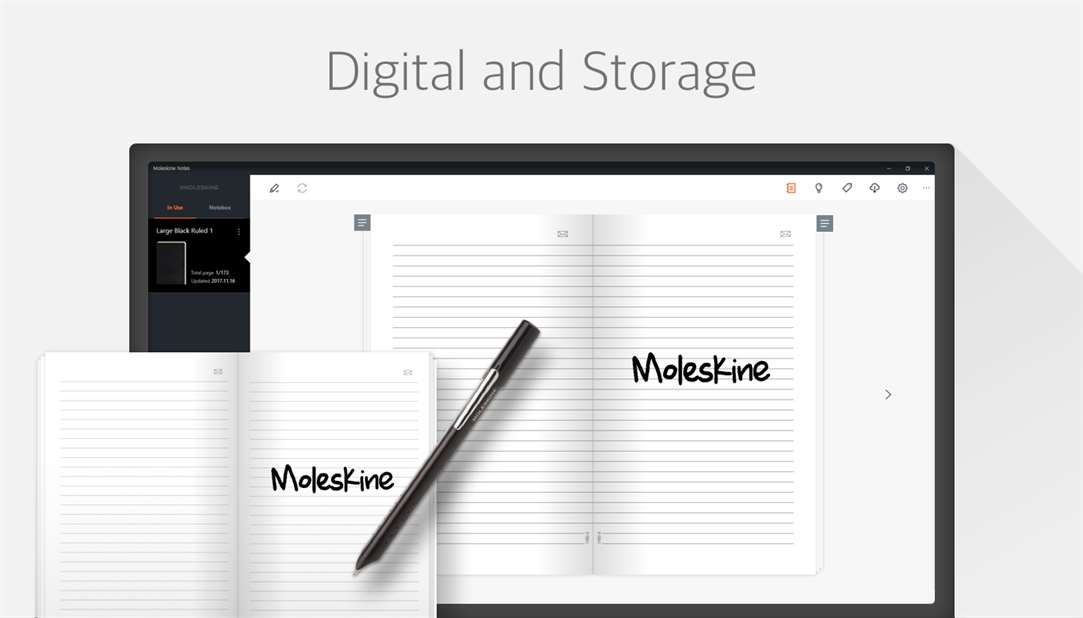 Digitize and Store Handwritten Notes With Moleskine Notes App