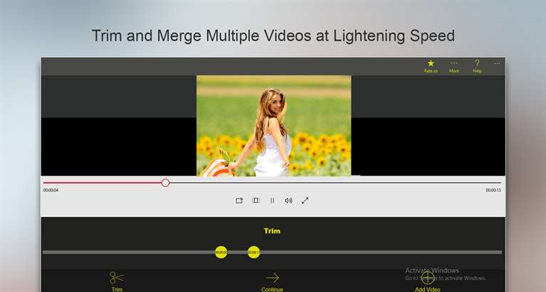 Trim and Merge Videos With Movie Maker App On Windows 10