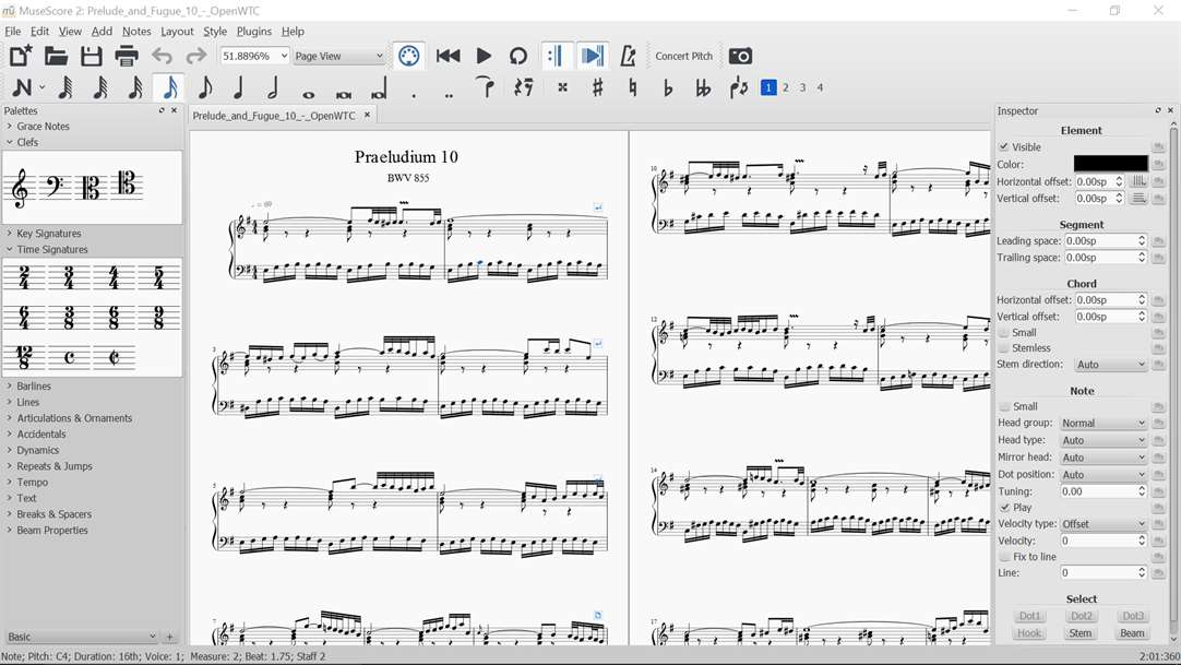 Write Your Next Song With MuseScore 2