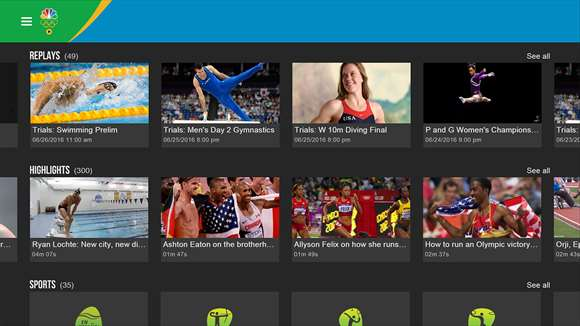 NBC Sports App For Windows 10 Gets Olympic Update