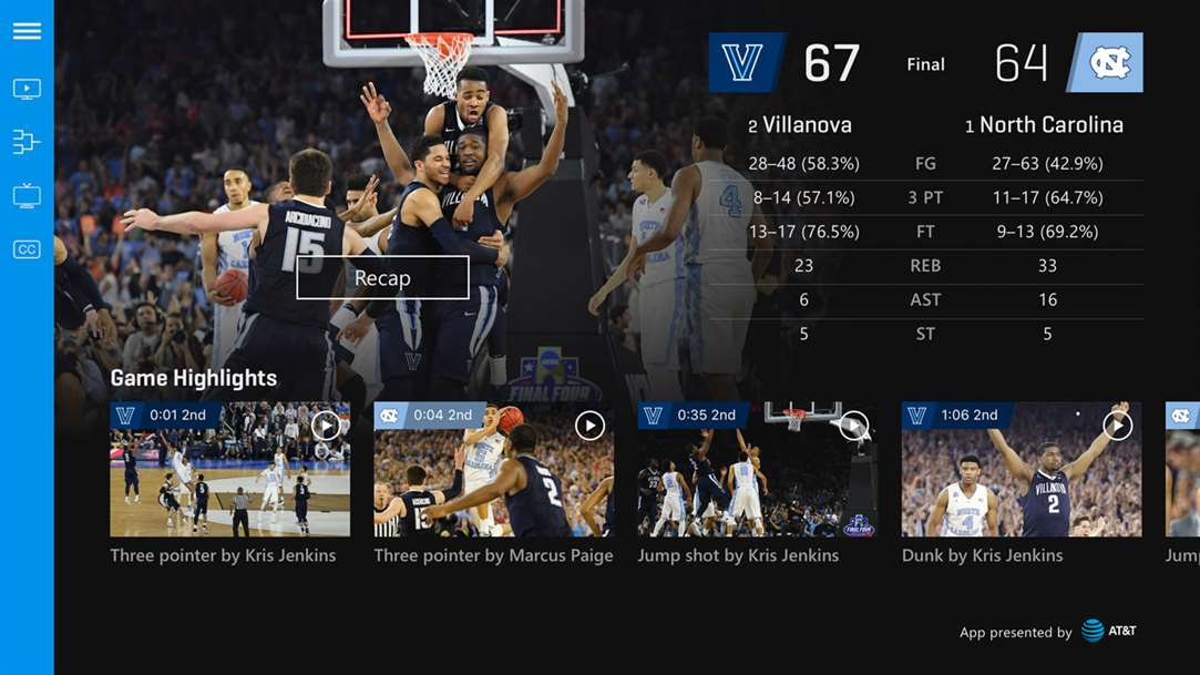 Follow Games & Scores During NCAA Tourney With NCAA March Madness Live