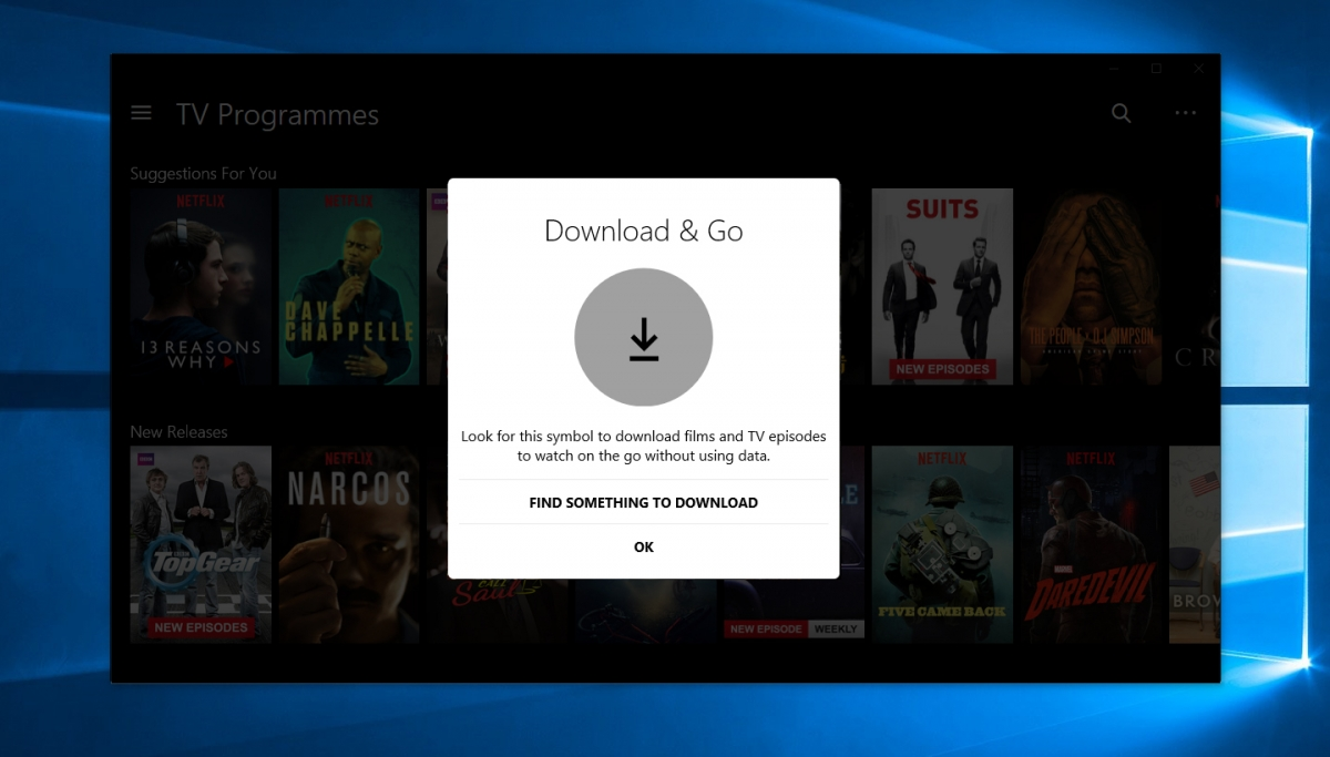 Now Download Netflix Videos With Updated Windows 10 App