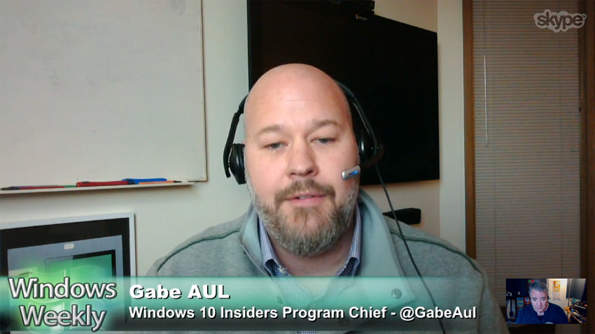 Microsoft's Gabe Aul Talks About New Windows Build On Windows Weekly Podcast For Windows 10 Users