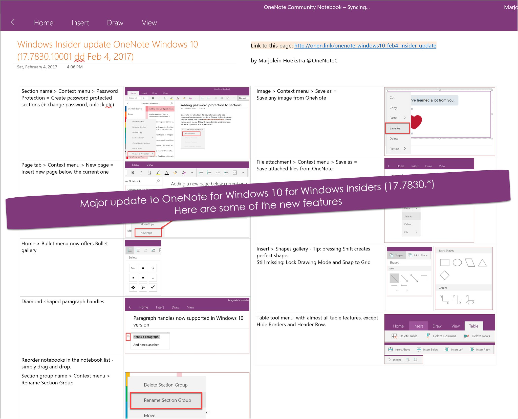 OneNote Central Tweet Shows OneNote New Features Coming Soon