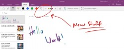 OneNote For Windows 10 Gets Ink Effects
