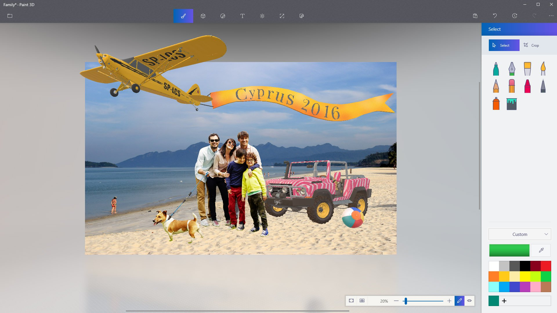 Updated Paint 3D App Gets July Refreshes & Updates