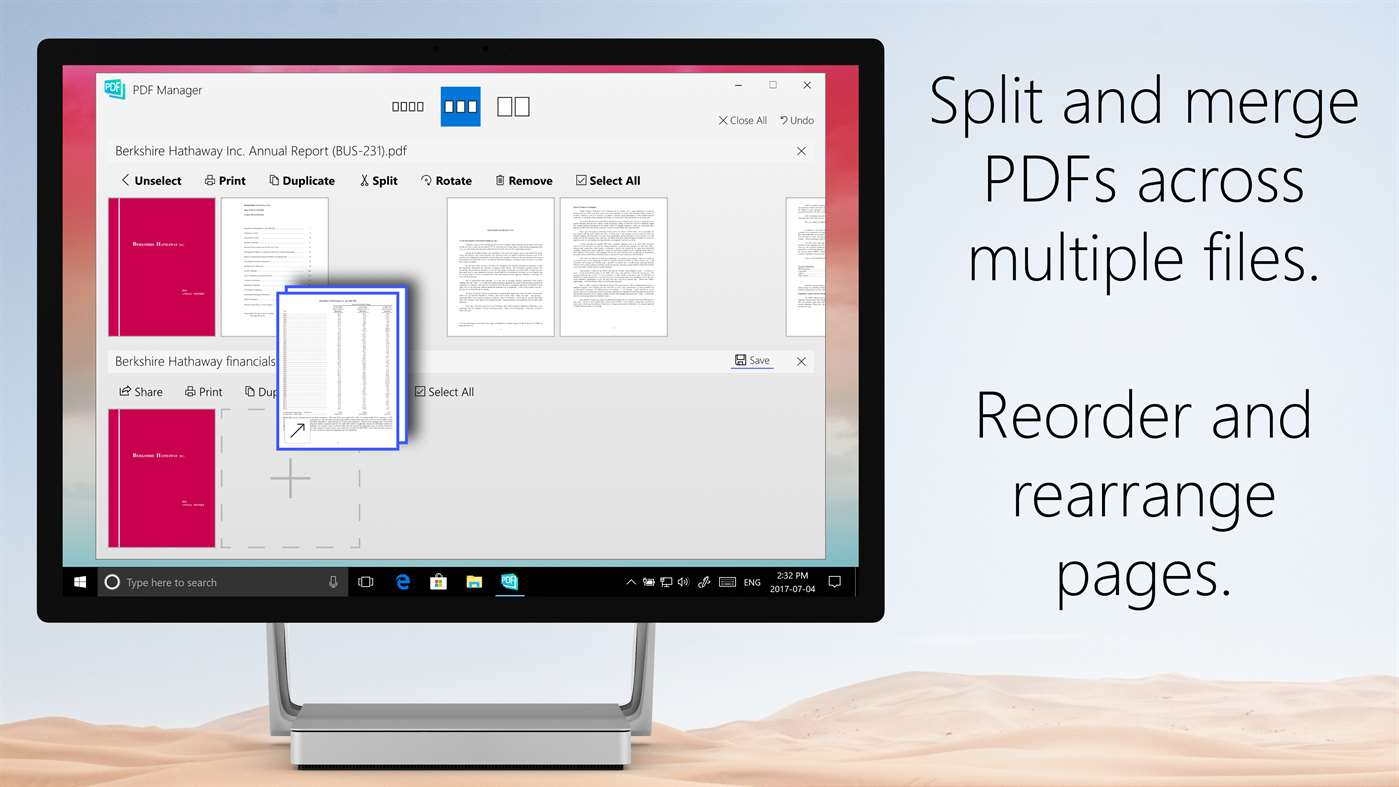 Manage PDF's Easily With PDF Manager