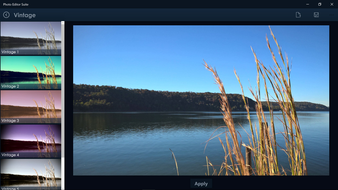 Filters Shine Bright With Windows 10 App: Photo Editor Suite