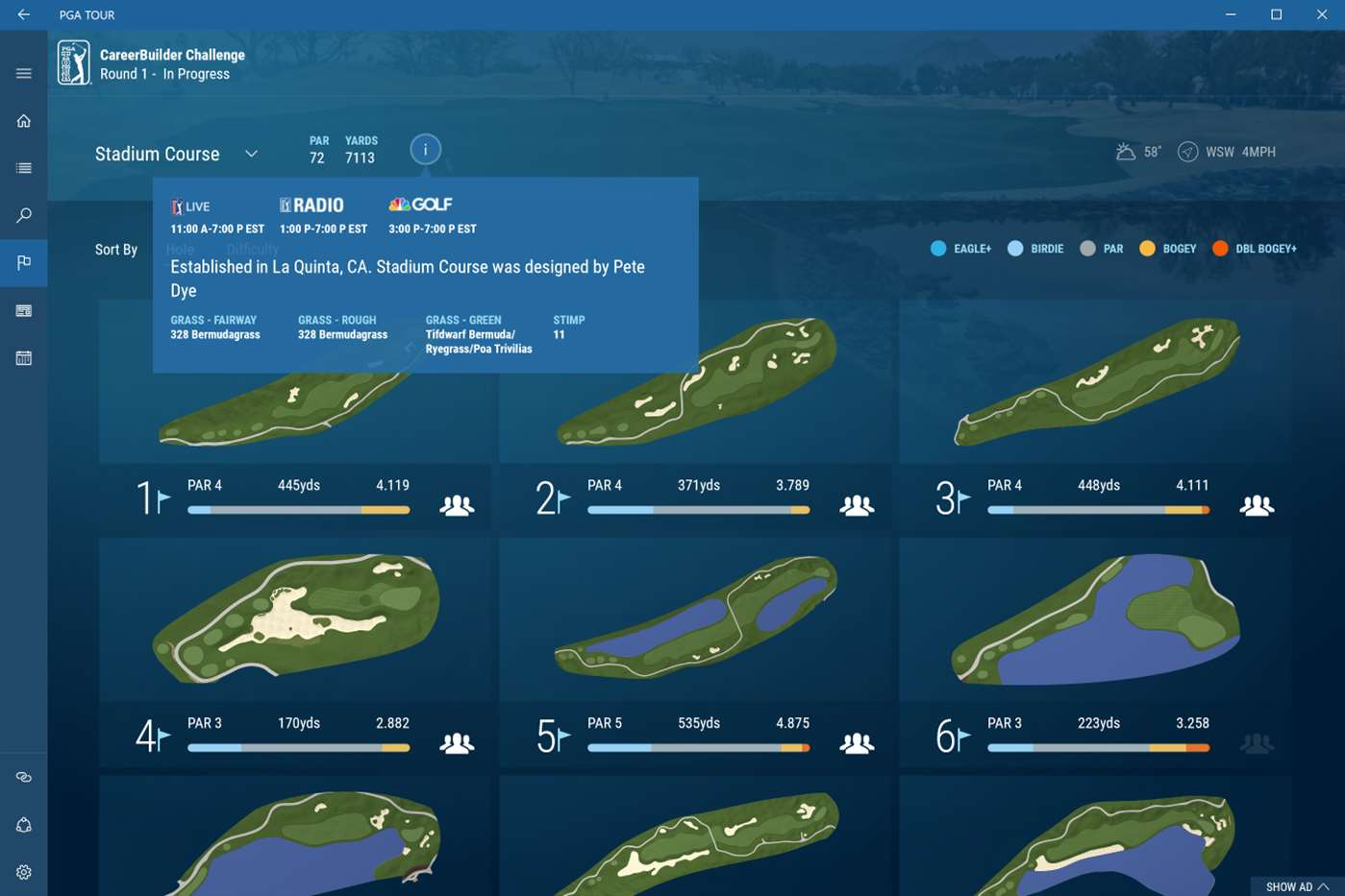 Enjoy The PGA Tour With New Windows 10 App