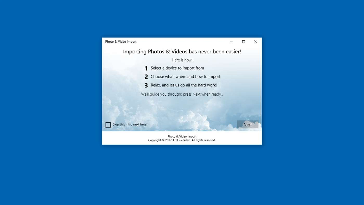 Manage Photos & Videos With Windows 10 App
